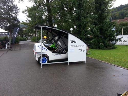 TWIKE  Solar Car Port